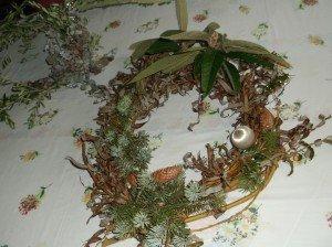 dscf3103-300x224 Couronne de Noël - préparatifs fêtes fin d'année - décoration maison - Nativité dans France